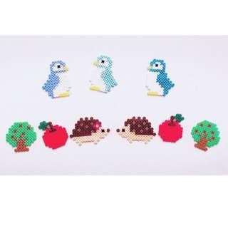 拼豆 可愛動物 來圖訂製 生日禮物 派對裝飾