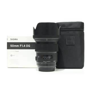 Sigma 50mm F1.4 DG HSM Art Lens (Canon Mount)