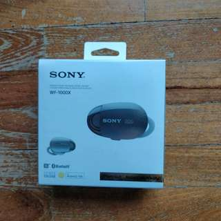 Sony wf-1000x Bluetooth ear piece