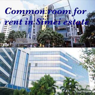 Common room for rent in Simei estate