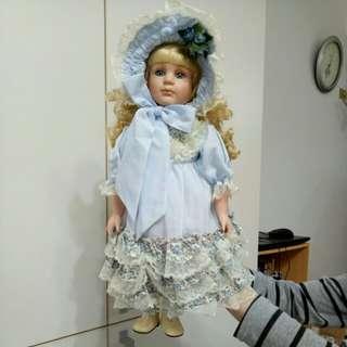 🚚 英倫風陶瓷娃娃