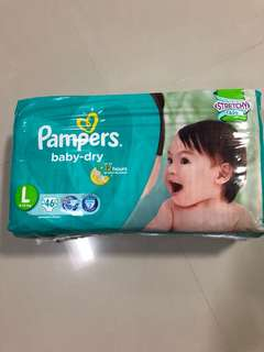 Pampers Baby Dry Tape L
