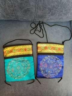 尼泊爾綉花袋