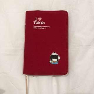 MOKUKO I Love Tokyo Notebook