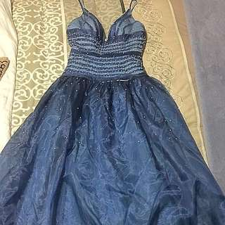 Formal Size 12 Blue Dress #CheapAsChips Fancy Costume