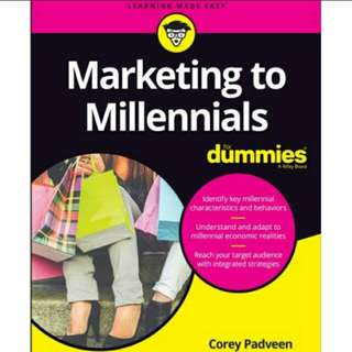eBook Marketing to Millennials For Dummies