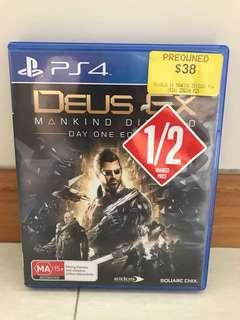 PS4 DEUS EX