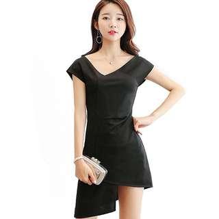 [PO]: Korean Irregular Dress