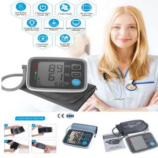 Arm cuff Digital Blood Pressure Monitor Oscillometric with Heart Rate Health Monitor  PM : 92325050