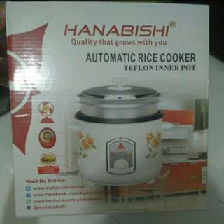 BRANDNEW Hanabishi Automatic Rice Cooker