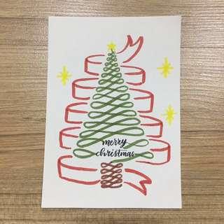 Christmas Calligraphy Cards