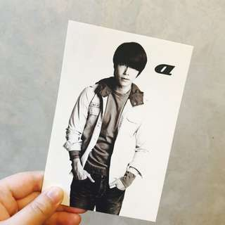 東海 Super Junior postcard (SPAO)