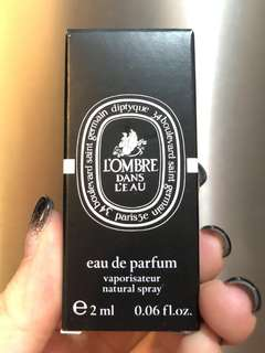🇫🇷法國💕Diptyque L'omber Dans Leau Eau de Parfum 2ml