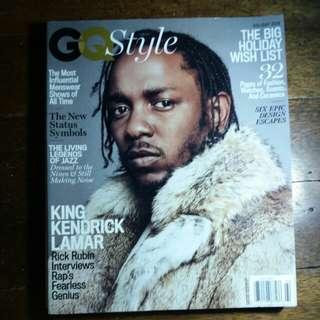Kendrick Lamar | GQ Style 2017