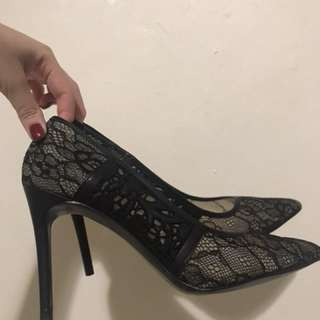 Charles & Keith covered heels