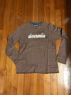 abercrombie long sleeve tee - M