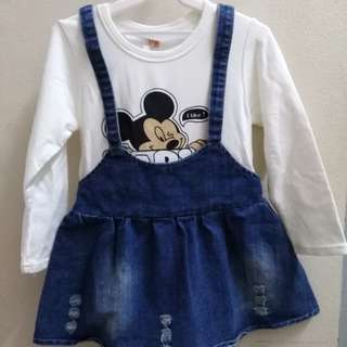 Kid girl Jean dress