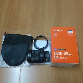Sony zeiss fe lens 16-35 f4