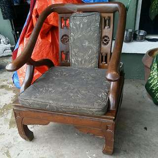 Chinese Vintage Antique Solid Wood Chair