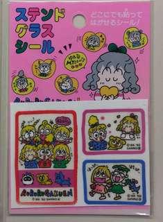 Sanrio 1993年 rururugakuen 貼紙 Ruru 癲婆