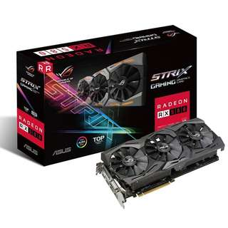 ASUS ROG Strix Radeon RX 580 TOP edition 8GB OC RX580