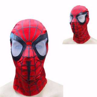 Spider-Man Adult Mask Avengers Iron Man Cosplay Costume Spiderman Marvel Comics Balaclava Tactical Disguise