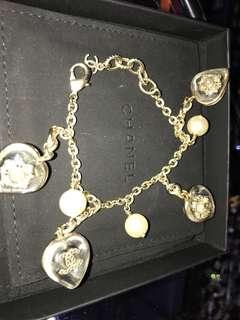 Chanel 心心 珍珠手鍊