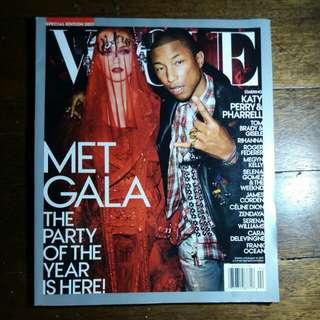 Katy Perry + Pharell   Vogue Met Gala 2017