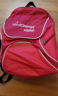 Mindchmps school bag
