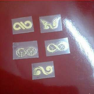 (PROMOTION) INFINITE LOGO STICKER