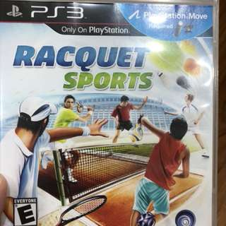 PS3 Game Racquet Sports