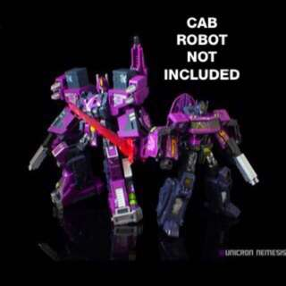 Transformers Ultra Magnus Fansproject City Commander Shattered Glass Purple Optimus Prime