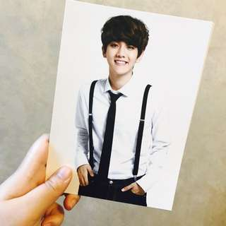 EXO 初雪 postcard set (紅版)