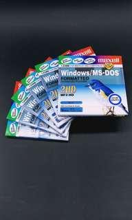 全新 1.44MB Floppy Disk 6只 (只限上水區交收)