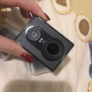Yicam with two batteries