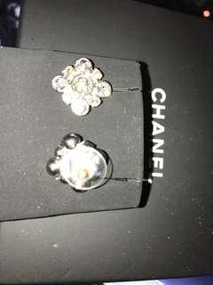 Chanel 閃石耳環 全新購自法國保證真品