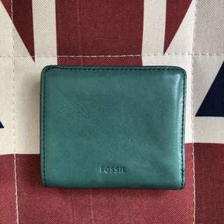 Fossil leather wallet 小銀包 包郵