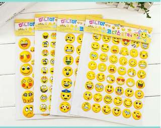 Smile Stickers / Kindergarten Reward / Teacher Day / Children Day / Birthday Gifts / Party Goodies