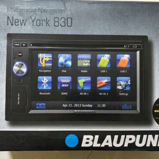 Blaupunkt New York 830 Multimedia Navigation