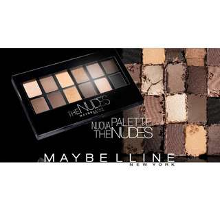Maybelline eyeshadow the nude original