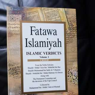 Fatawah Islamiyah Islamic Verdicts Vol 1 to 8