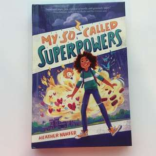 Book(my so-called Superpowers)(hardcover)