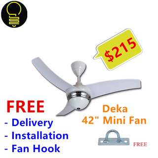 DEKA 42 Ceiling Fan Baby G Series