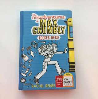 Book(misadventures of max Crumbly)(hardcover)