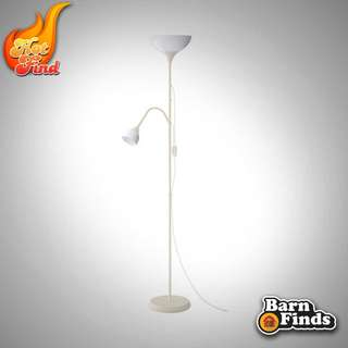 IKEA NOT FLOOR LAMP WITH READING LAMP