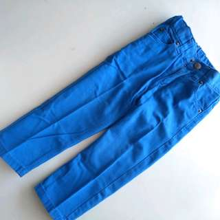 H&M blue pants