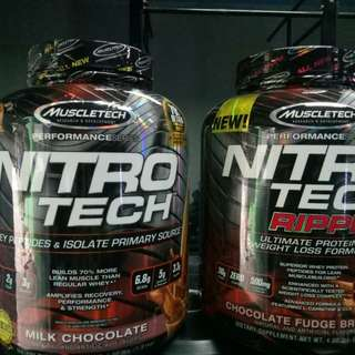 Muscletech Nitrotech Performance
