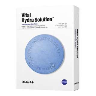 Dr.Jart+ mask water jet vital hydra solution