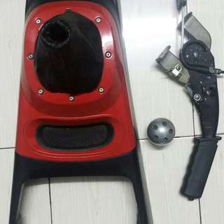 Gear Console, Gear Knob & Handbrake for Proton
