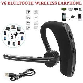 600好評超特賣!現貨100%New! 本店又一誠意性價比之選~簡約V8商務藍牙耳機 Bluetooth Earphone